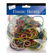 Just Stationery Coloured Elastic Rubber Bands